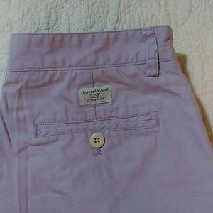 SALE  Vineyard Vines Mens Lavender Chino Shorts 30
